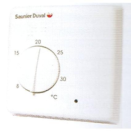Exabasic - Termostato de temperatura ambiente 24V–230