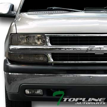 Amazon Topline Autopart Smoke Tint Headlights Signal Bumper Am Dy Altezza Taillights Jy 99 02 Silverado Automotive
