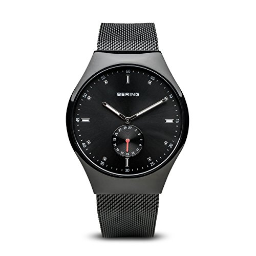(BERING Time 70142-222 Smart Traveler Collection Watch with Mesh Strap and Scratch Resistant Sapphire Crystal. Designed in Denmark.)