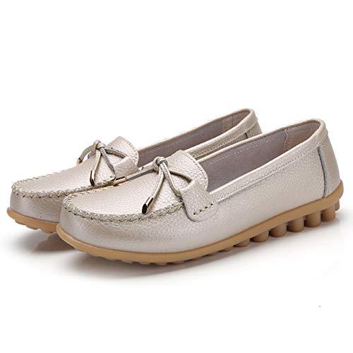 Zapatos Cuero para Colores una Baja FLYRCX Variedad I de de de de Oficina Maternidad señoras cómodos Moda Suaves Elegir Boca de la Trabajo Zapatos de Planos Zapatos Antideslizantes de Zapatos la qfxfw6Pp