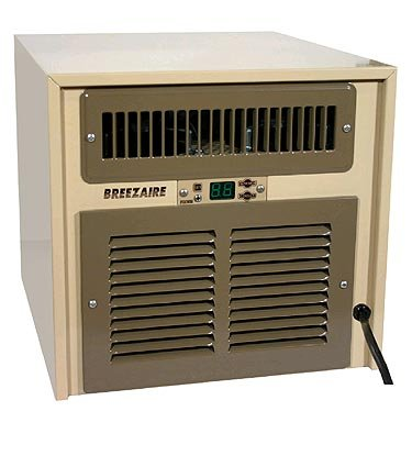 - Breezaire WKL-2200 Wine Cellar Cooling Unit (Max Room Size = 265 cu ft