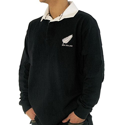 Mens New Zealand All Blacks Rugby Shirt Size: Small