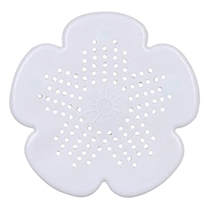 Home Improvement New Cherry Blossom Sewer Drainage Filter Bathroom Sink Kitchen Plug Anti-blocking Sewage Covers Floor Covering Hair Filter Blue Bathroom Sinks,faucets & Accessories