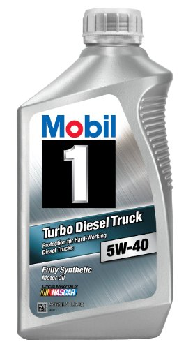 Mobil 1 44986 5W-40 Turbo Diesel Truck Synthetic Motor Oil -