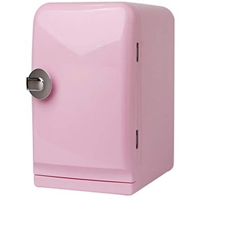 Mini Nevera Rosa De 5 Litros, Compartimento Para Guardar El ...
