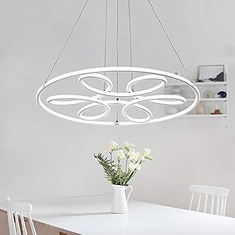 Lámpara colgante LED xw808 con mando a distancia es la luz ...