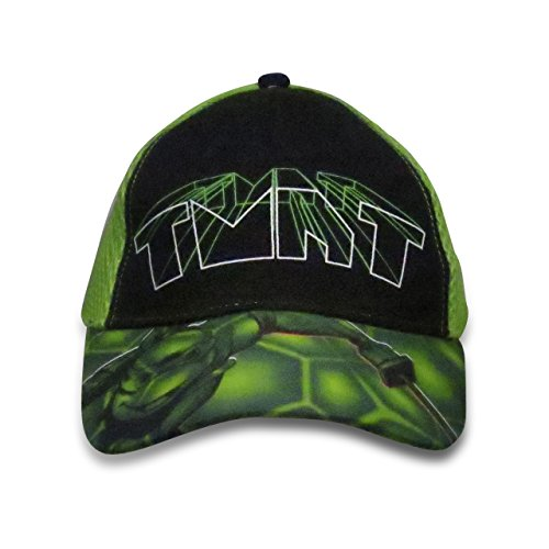Nickelodeon TMNT Boys Baseball Cap with Snapback Closure - 100% Cotton Green