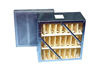 """Extract-All Primary Rigid Cell Filter with Final 2"""" Refillable Carbon Module, For S-987-1, S-987-2A, and S-987-AMB Fume Extractors"""