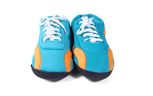 LICENSED Comfy All Miami Mens Womens and Feet Around Feet NFL Dolphins Happy OFFICIALLY Slippers rxqw6Irz