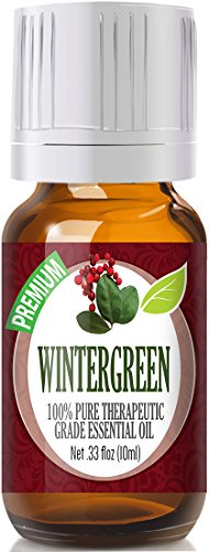 Wintergreen 100% Pure, Best Therapeutic Grade Essential Oil - 10ml