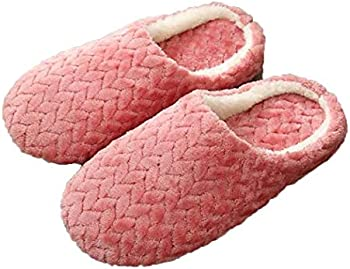 Wumedy Fashion Soft Warm Solid Wear Resistant Home Cotton Unisex Slippers