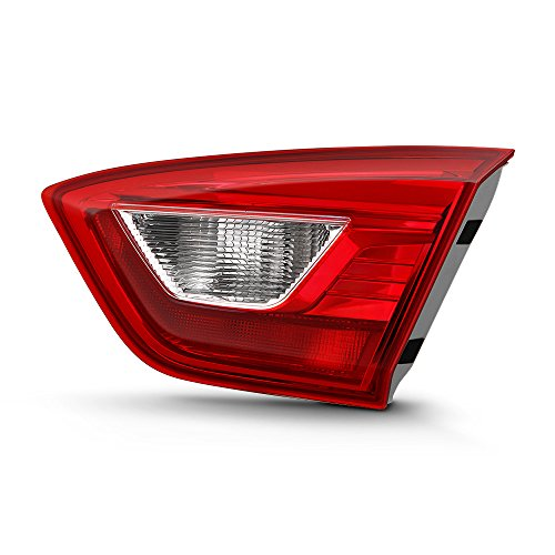 VIPMOTOZ For 2016-2019 Chevy Cruze Sedan Inner Passenger Side OE-Style Red Lens Right Tail Light Housing Lamp Assembly Replacement