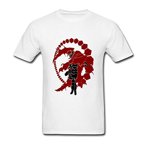 Kingdiny Men's Deadman Wonderland T Shirt (Deadman Wonderland Shirt)