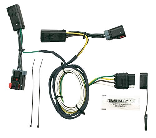Hopkins 42235 Plug-In Simple Vehicle Wiring Kit (Trailer Hitch For 2007 Chrysler Town And Country)