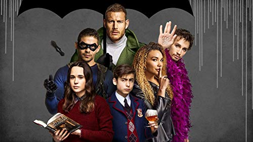 TianSW The Umbrella Academy Season 1 (43inch x 24inch/107cm x 60cm) Waterproof Poster No -