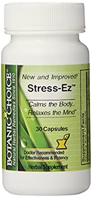 Botanic Choice Stress- Ez, 30 Count