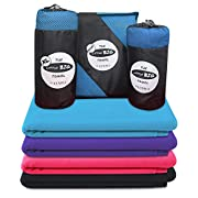 Microfibre Towel | Original Little Big Towel | Quick Dry Micro Towels for Swimming, Gym, Sports, Camping | Men, Women…