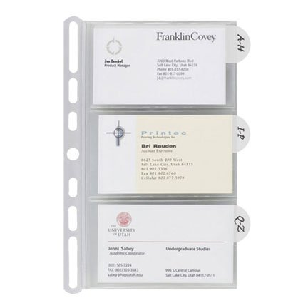 Insertables Categorized Business Card - Card Insertable Business Holder