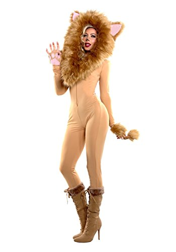 Starline Women's Hooded Lion Costume -