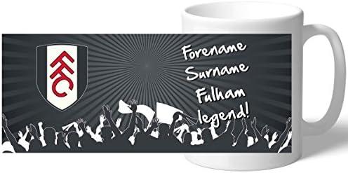 Official PERSONALISED Fulham FC Legend Mug