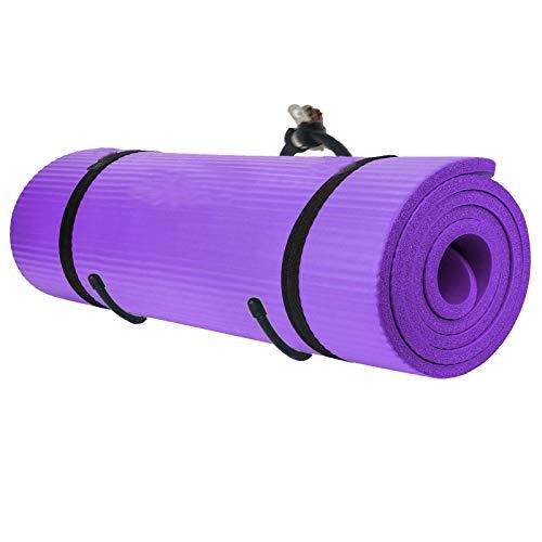 Pmsanzay Multi-Purpose (Adjustable) Yoga/Exercise Mat Storage Hangers,Wall-Mounted Rack – Hangs Yoga Blocks, Towel, Foam Rollers, Gym Mats, Yoga Physio Studio Bracket Stand – Hold Up to 20Lbs,