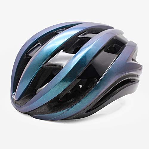 Fietshelm Ultralight Outdoor Sport MTB Racefiets Helm Integraal gegoten Heren Dames Fietshelm(Kleurovergang paars,ML 54…