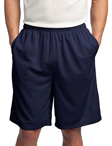 Sport-Tek Men's Comfort Side Pocket Performance Short_True -