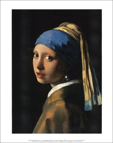 フェルメール 真珠の耳飾りの少女 アートポスター TXA-001