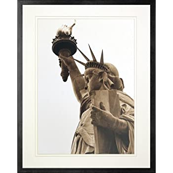 Amazoncom Statue Of Liberty Lady Liberty Nyc Framed Art Print