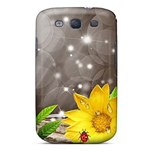 Awesome Design Sunflowers After The Rain Hard Case Cover For Galaxy S3