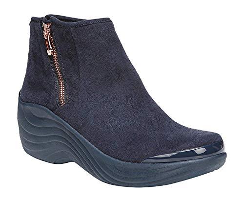 BZees Women's Zora Ankle Boot, Navy