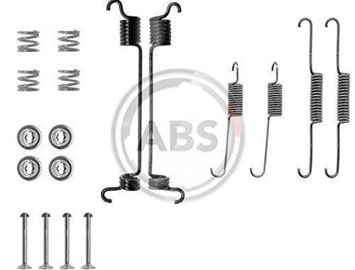 Bremsbacken ABS 0741Q Zubeh/örsatz