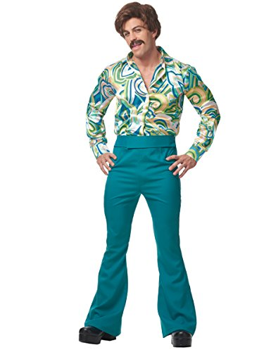 70s Disco Dude Adult Costume - Disco Dude Adult Mens Costumes