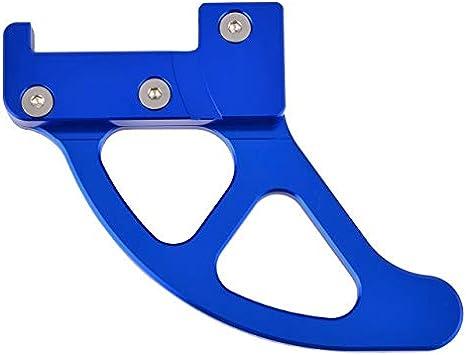 Color : Blue for Husqvarna Te FE Husaberg TC FC 125 150 250 300 350 390 450 501 350S 501S 2014-2017 SZHSM Garde Frein /à Disque arri/ère Couverture Fit