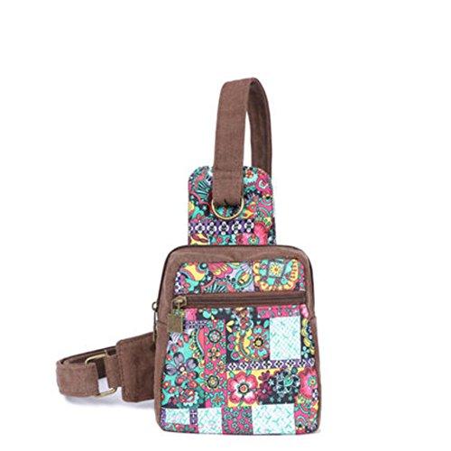 chest A de nbsp;mini handbags Besace Casual Sac éolienne toile fashion nbsp; nbsp; diagonale A petite nationale Pack Impression en Uq1ExFSfw