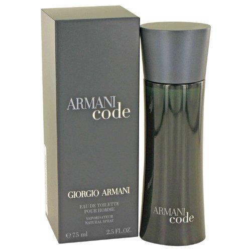 Armani Code by Giorgio Armani - Eau De Toilette Spray 2.5 oz - Men (Armani Code For Men Eau De Toilette)