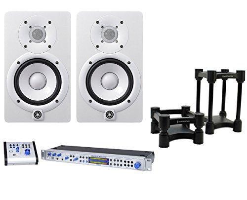 2x Yamaha HS5 White Studio Monitor +PreSonus Central Station PLUS ()