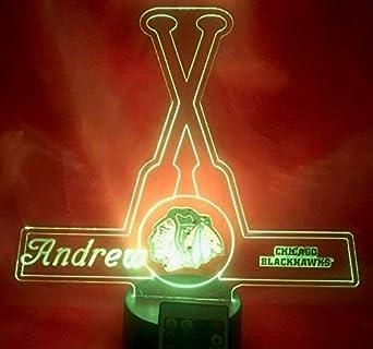Chicago Blackhawks Mascot Desk Lamp