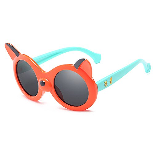 Light Boy Kids Fauhsto Cute Polarized Children Goggles Girls Silicon Glasses Baby Eyewear Sunglasses Red Sunglasses UV400 Frame Cool HwgawUq