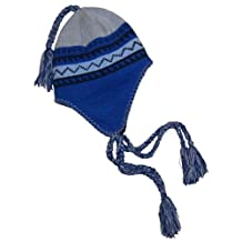 N'Ice Caps Boys Currier and Ives Knitted Ski Hat with Fleece Lining