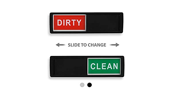 Amazon.com: Imán para lavaplatos Clean Dirty – Indicador ...