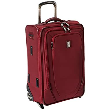 Travelpro Crew 10 22 Inch Expandable Rollaboard Suiter, Merlot, One Size