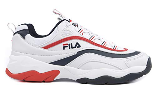 Fila Low F Ray 01m White Sneakers Man 1010578 rqtprw