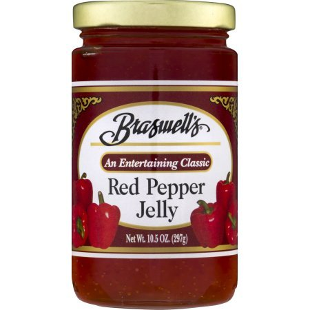 Braswell Jelly Pepper Red, 10.5 oz (2 jars) by Braswell
