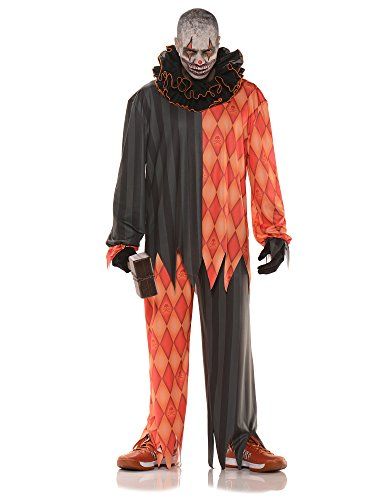Underwraps Evil Psycho Clown Adult Costume
