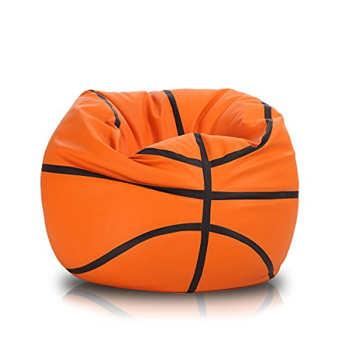 Turbo BeanBags Basketball Style Bean Bag Chair, Large by Turbo BeanBags