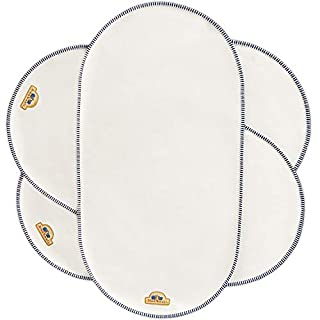 """BlueSnail Waterproof Changing Pad Liners 3 Count (14""""X26.5"""", White), Bassinet Pad Liner"""