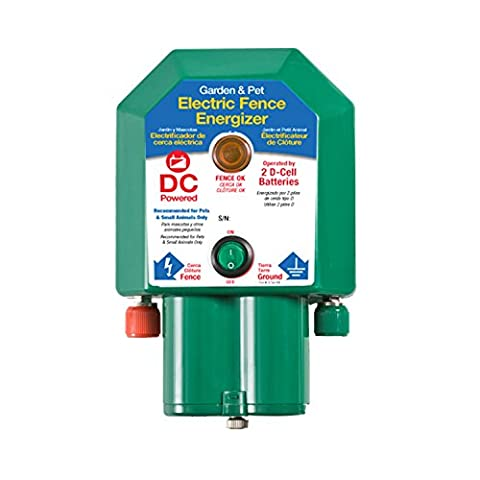 Fi-Shock Electric Fence Garden & Pet Energizer 5 Acre Coverage - Fence Charger