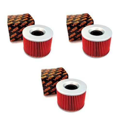 (1980-1983 Honda Goldwing 1100 GL1100 Oil Filter - (3 pieces))