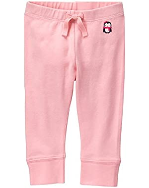 Baby Girls' Pink Legging